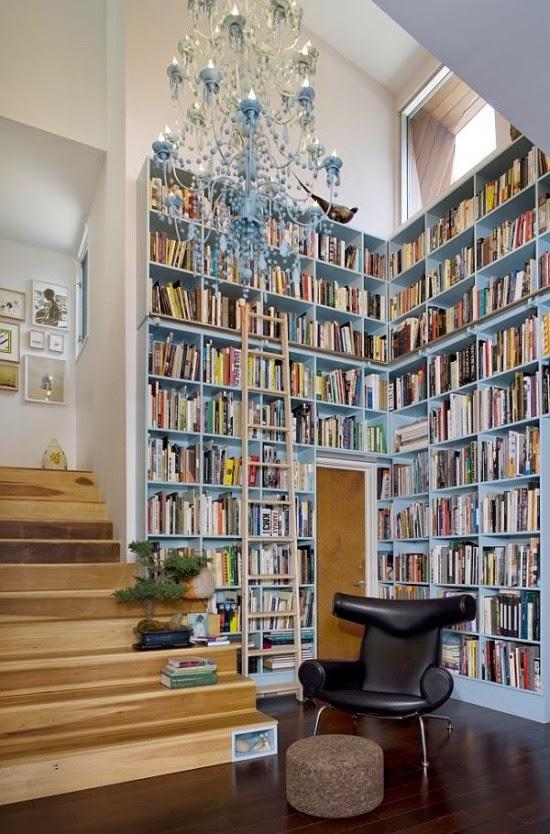 diseñar rincón de lectura