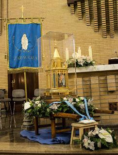 Misa con las reliquias de Bernadette