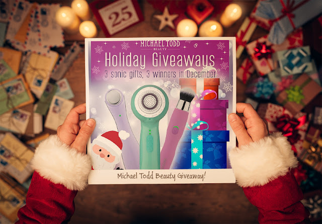 Win A Michael Todd Beauty Sonicblend Makeup Brush And More by barbies beauty bits