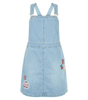 http://www.newlook.com/shop/womens/dresses/blue-badge-embroidered-denim-pinafore-dress_383934046