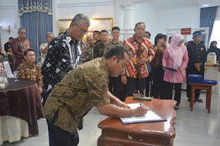 Provinsi Jambi Dan Provinsi Jawa Barat MoU Kesepakatan Kerjasama Daerah