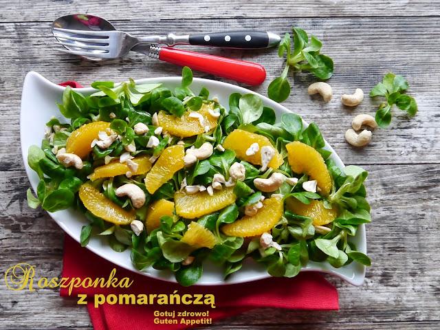 Roszponka z pomarańczą i orzechami  - Czytaj więcej »