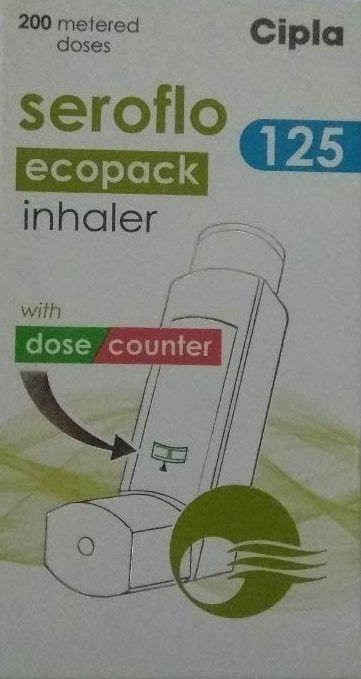 Seroflo 125 inhaler - Cipla