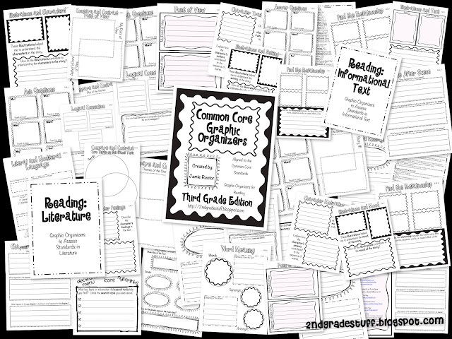 2nd Grade Stuff: Common Core Graphic Organizers: 3rd Grade