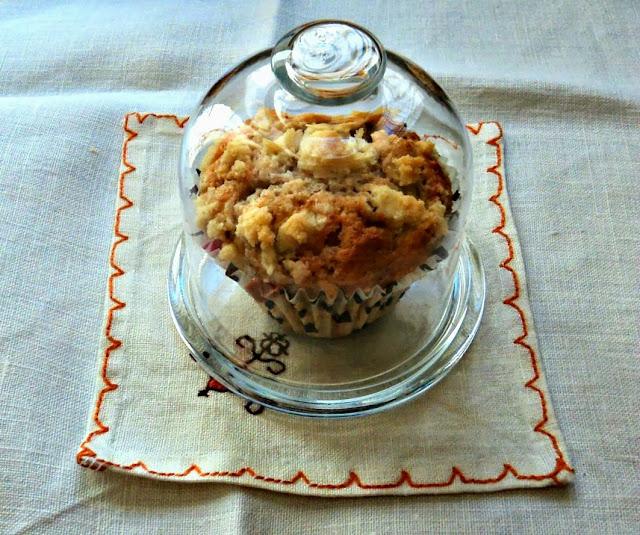 receta casera muffins chocolate blanco nueces