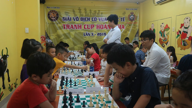 Giải cờ vua Quốc Tế tranh cup Hoàng Gia lần X - 2019