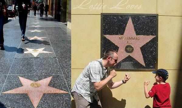 Why Muhammad Ali's Star On Hollywood Walk of Fame Is Not On The Ground Like Others