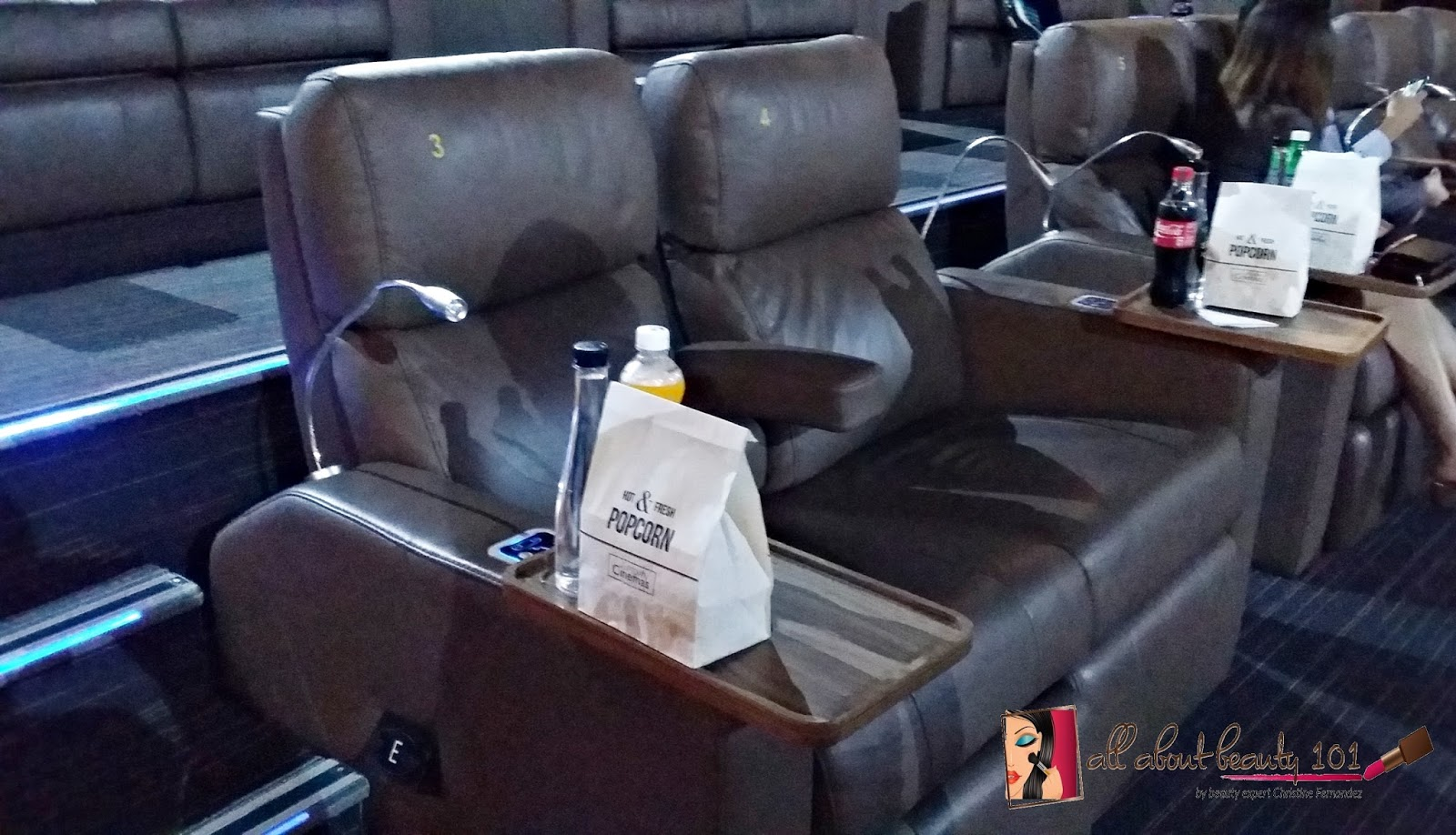 My Experience: Uptown Mall VIP Cinema | All About Beauty 101