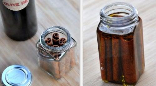 DIY huile thérapeutique à la cannelle et quels sont ses bienfaits