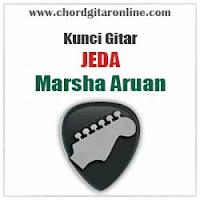 Chord Kunci Gitar Marsha Aruan Jeda
