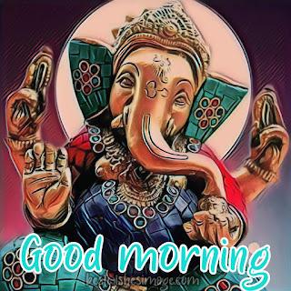 good morning ganesh bhagwan ka photo hd pics images
