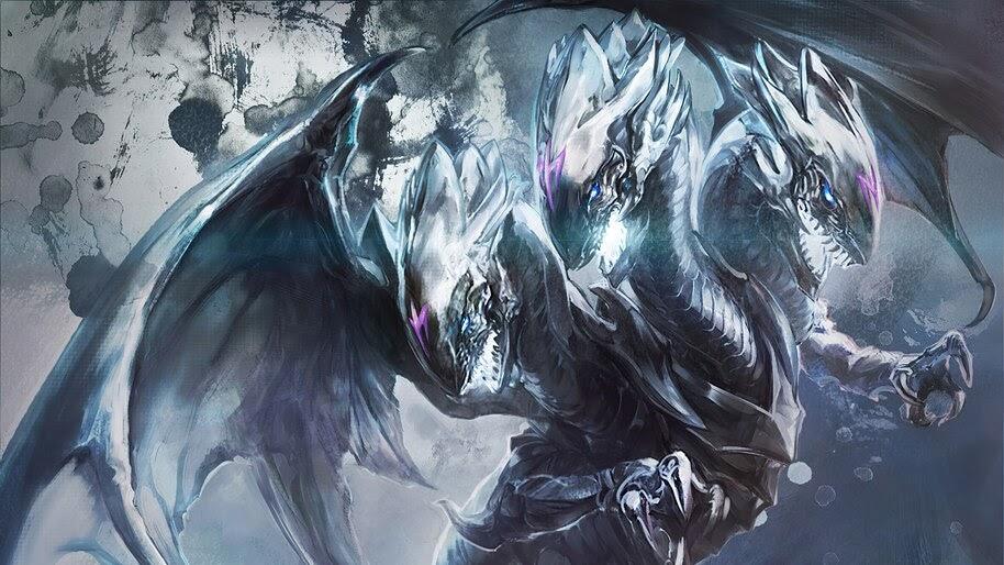 Blue Eyes White Dragon Yu Gi Oh 4k Wallpaper 4 2361
