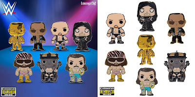 Entertainment Earth Exclusive WWE WrestleMania Pop! Pin Blind Bag Series by Loungefly