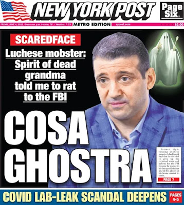 Jerry Capeci's page one Post story on John Pennisi