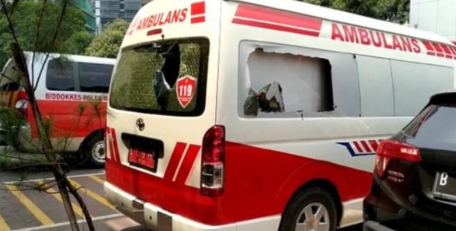 Bukan Milik Pemprov, Ambulans yang Diamankan Polda Metro Ternyata Berlogo PMI