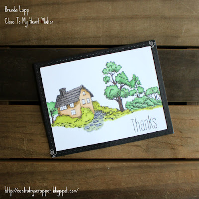 card created with Strong Roots and TriBlend™ Markers