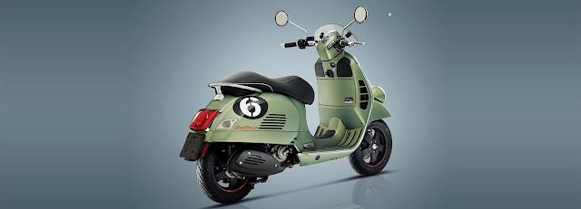 Vespa re-brands, redesigns its Sei Giorni scooter