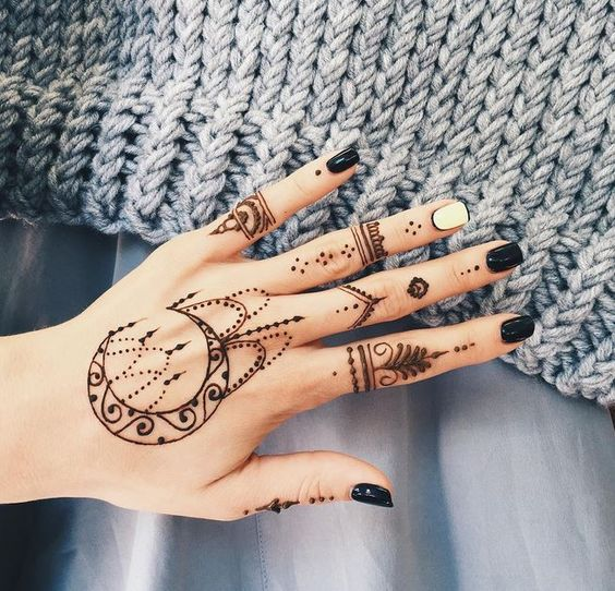 Best Henna Tattoo Designs For Girls