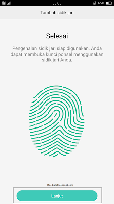 Cara Mudah Mengaktifkan Fitur Fingerprint (Sidik Jari) di Android