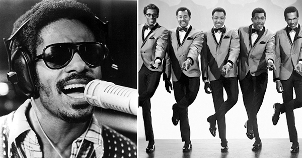 Stevie Wonder and the Temptations