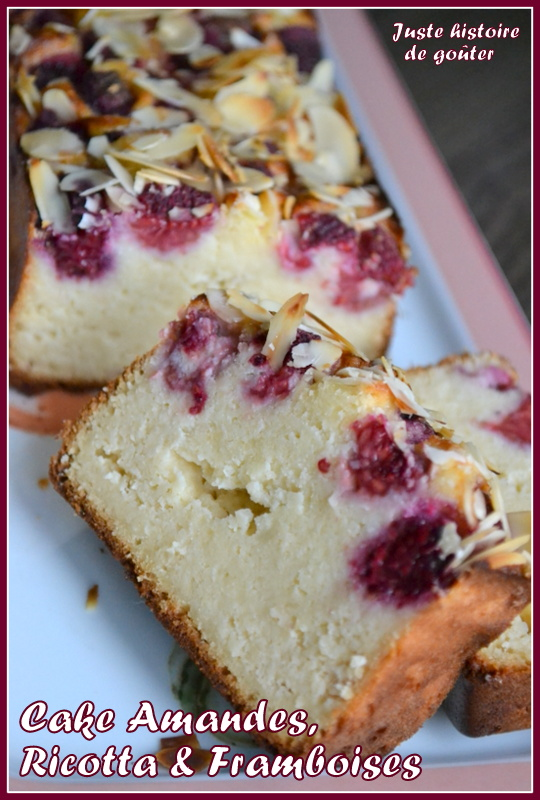 Cake Aux Framboises Et Citron