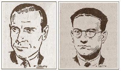 Los ajedrecistas Fuentes y Martínez Mocete