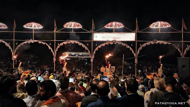 Ganga Aarti in Varanasi