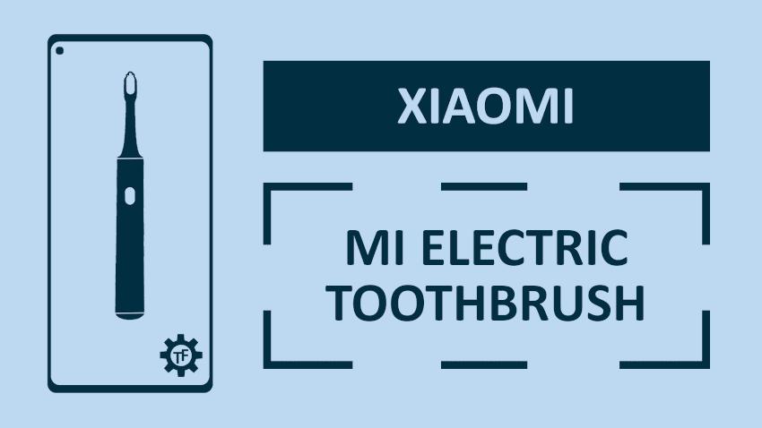 Xiaomi Mi Electric Toothbrush Połączenie z aplikacją Mi Home