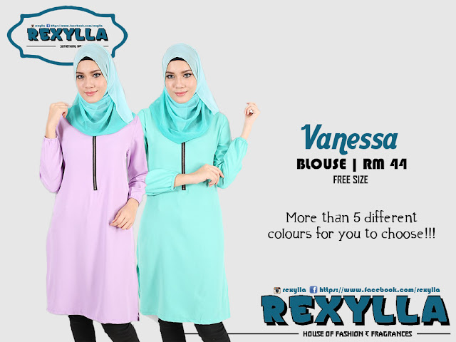 rexylla, blouse, vanessa collection