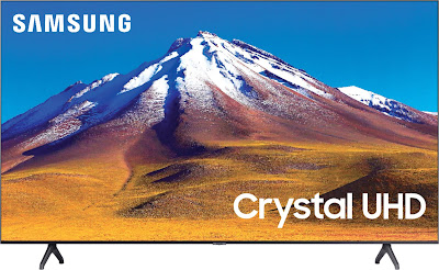 "Samsung - 70"" Class 6 Series LED 4K UHD Smart Tizen TV (UN70TU6980FXZA)"