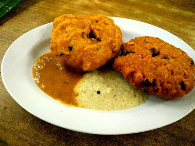 Tempat makan best di Petaling Jaya, Restoran Abirami Kelana Jaya, vadeh sedap