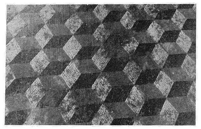 Mosaico de cubos plásticos de la villa romana de Martos