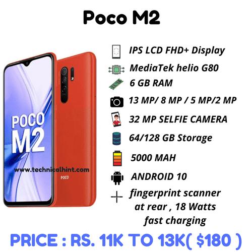 Poco M2 specifications