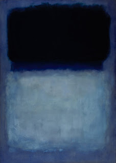 Mark Rothko - Green on Blue,1956.