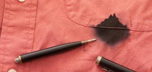 طرق إزالة بقع الحبر الجاف من الملابس