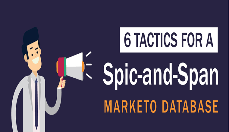 6 Tactics for a Spic-and-Span Marketo Database #infographic