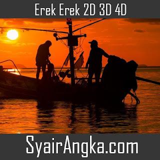 Erek Erek Menjadi Nelayan 2D 3D 4D