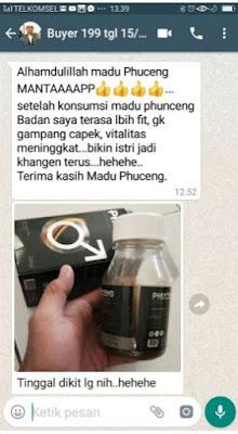 Khasiat Madu Phuceng Herbal Stamina Laki Laki Perkasa