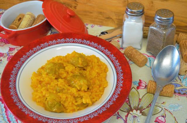 Las delicias de Mayte, lagarto de cerdo blanco receta, arroz con lagartillo de cerdo, lagarto de cerdo recetas, receta lagarto de cerdo, arroz recetas, recetas de arroz,