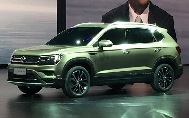 VW SUV - concorrente do Jeep Compass