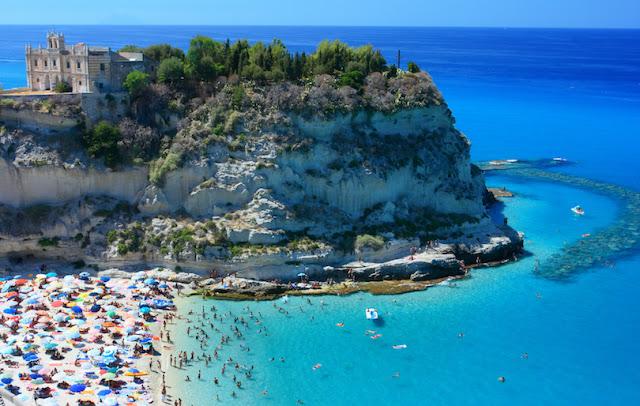 Marasusa Beach, Tropea, Calabria