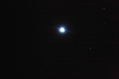 bright Sirius in colour