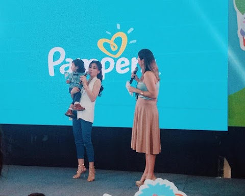 Toni and Baby Seve Dance to Less Lawlaw, Go Galaw Mornings thanks to Pampers Baby Dry