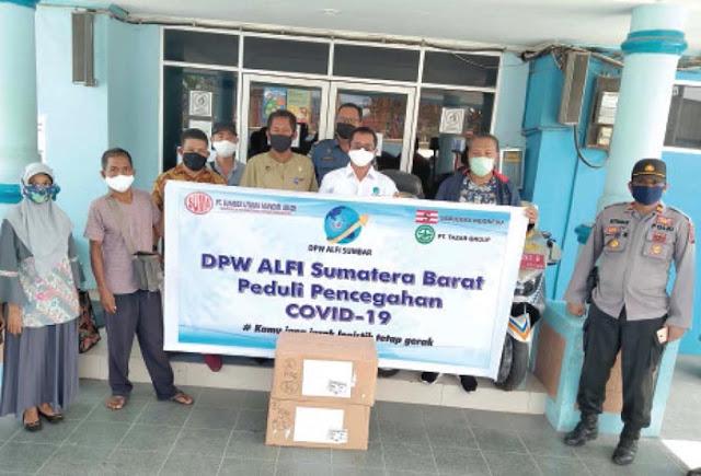 DPW ALFI Sumbar Gelar Aksi Peduli Covid-19