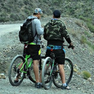 Ciclistas em Villavicencio 8 - Conferindo a Fotografia