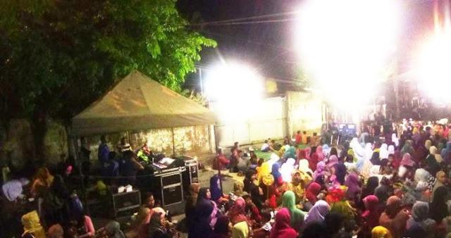 GP Ansor Surabaya Gelar Nobar Film G30S/PKI Tadi Malam, Warga Membeludak