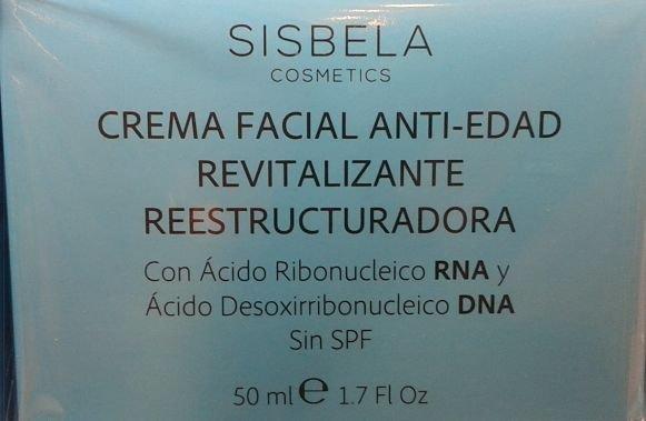 Crema Facial anti edad Sisbela de Mercadona