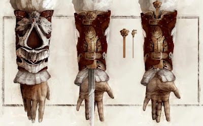 Assassin's Creed Hoja Oculta Armas Icónica
