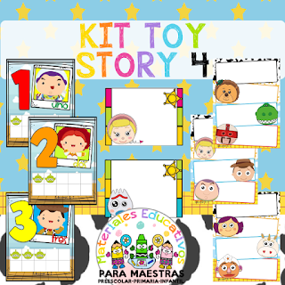 Kit Escolar Toy Story