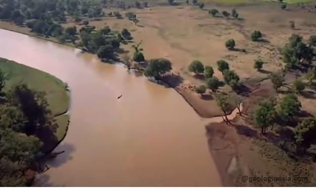 sungai di benua afrika